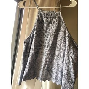 American Eagle Outfitters Tops - LAST CHANCE Scalloped Hem Tank